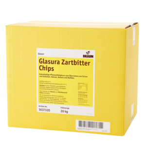 Glasura Zartbitter Chips